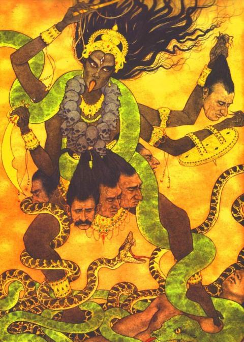 MotherGODDESS Kali